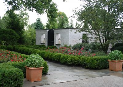 Masonry Garden wall and walk - Lake Forest