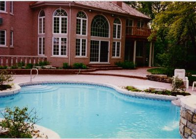 Pool Deck 6 - Brick Pavers