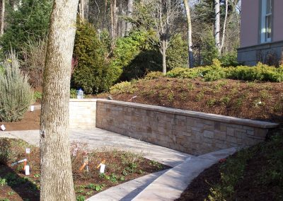 Retaining Wall - Natural Stone