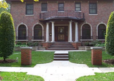 River Forest Bluestone Front Entrance