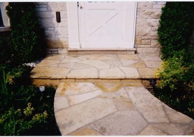 Steps 4 - Natural Stone