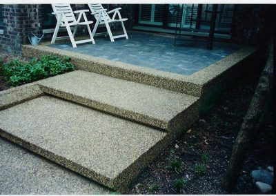 Steps 8 - Exposed Concrete
