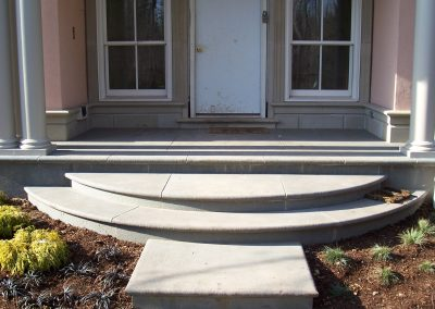 Stone Front Entrance