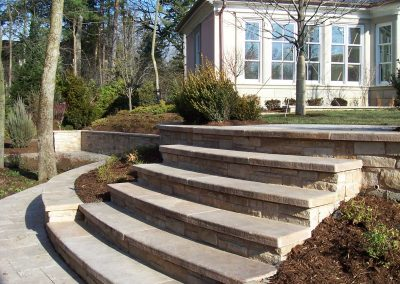 Natural Stone Steps and Walls