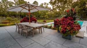 natural stone patio lake forest